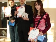 Награждение, Голощапов Александр Васильевич (в центре)