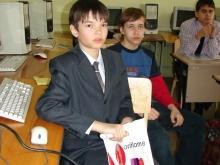 На секции, Жидков Илья Дмитриевич и Горбунов Никита Викторович