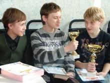 Награждение слева направо, Горбунов Никита Викторович и Жмаков Семён Владимирович и заслуженные ништяки