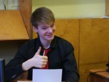 На секции, Волохов Владлен Евгеньевич и уверенность в своих силах