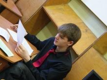 На секции, Волохов Владлен Евгеньевич и по прежнему уверенность в своих силах