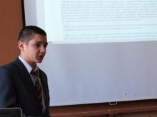 Выступление, Попов Евгений Юрьевич и первая секция