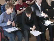 первый ряд слева направо, Медведев Илья Анатольевич и Жидков Илья Дмитриевич