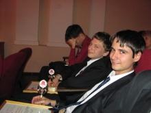 справа налево, Карякин Дмитрий Александрович, Жмаков Семен Владимирович, Голощапов Александр Васильевич